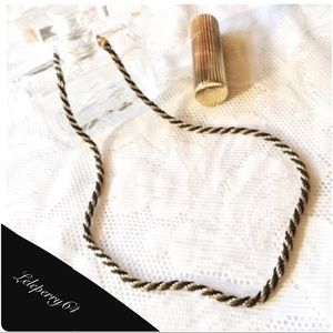 Vintage Sarah Coventry Rope Necklace